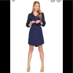 Lilly Pulitzer Beckett navy Jersey Dress